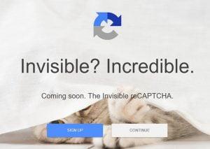 Captcha invisibles