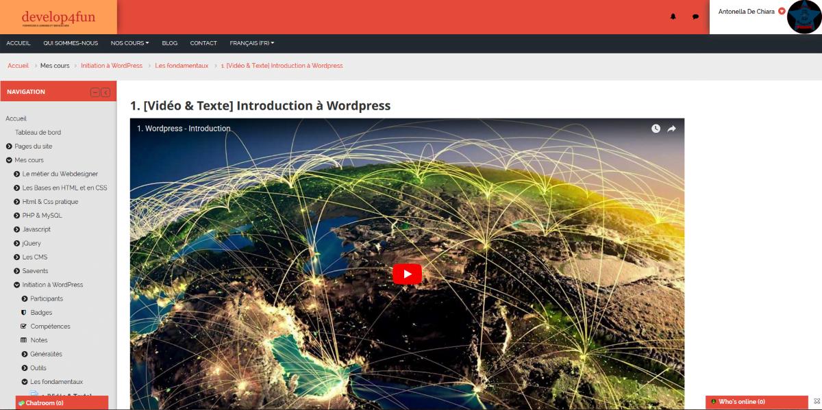 Formation eLearning - Initiation à WordPress