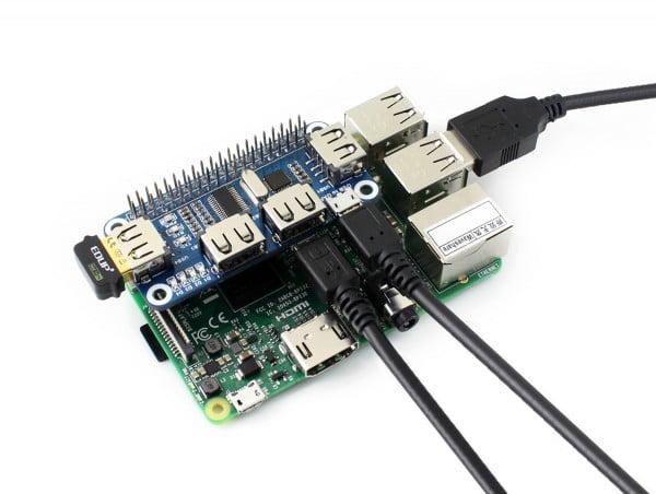 Raspberry Pi 4 USB