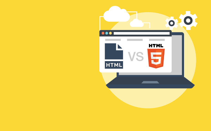 Differences html et html5