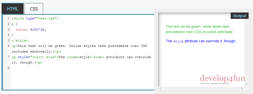 Style CSS 3