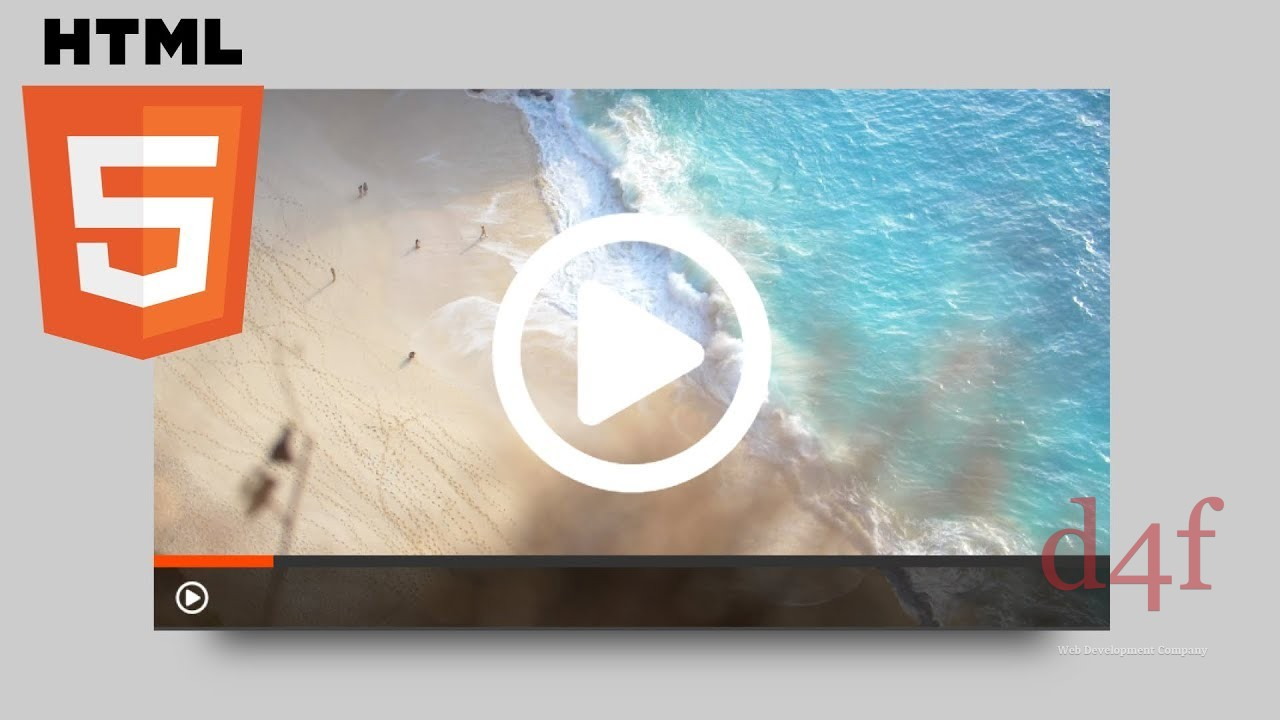 HTML 5 : lecteur vidéo