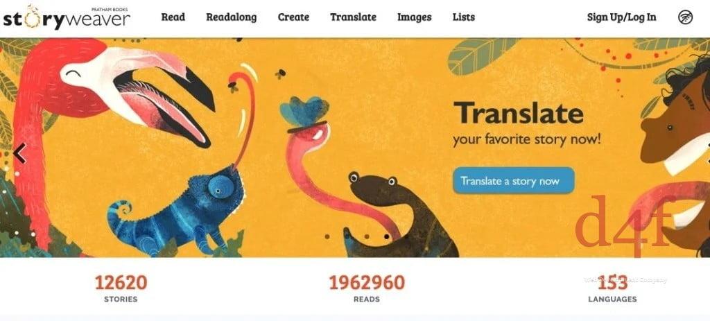 12 000 histoires pour enfants dans toutes les langues