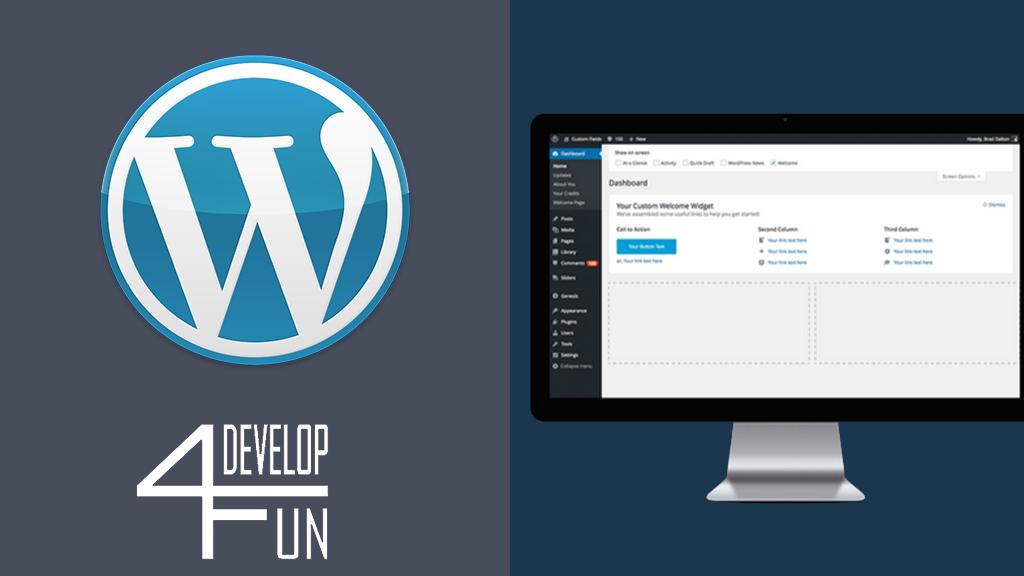 Cours WordPress Develop4fun